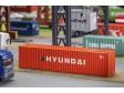 H0 - 40' Hi-Cube Container HYUNDAI