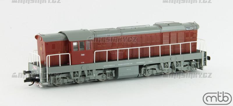 TT - Dieselová lokomotiva T669.008 - ČSD (analog) #4
