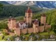 H0 - Středověký hrad s LED osvětlením