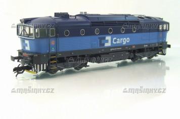 TT - Dieselová lokomotiva řady 750 - ČD CARGO (analog)