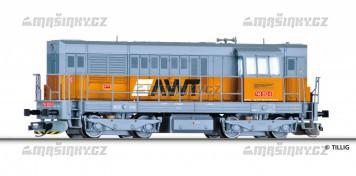 TT - Dieselová lokomotiva řady 740 der AWT a.s. (CZ) (analog)