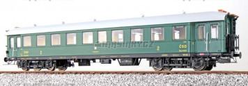 H0 - Osobní vůz 2. třídy Ba 3 0137 - ČSD