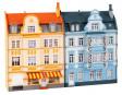 H0 - 2 městské reliéfní domy
