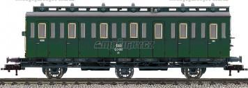 H0 - Osobní oddílový vůz C3 pr11, ČSD