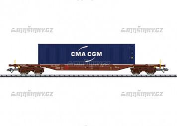 H0 - Plošinový vůz Sgnss 539.8 s kontejnerem - ČD Cargo