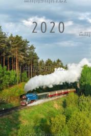 Nástěnný kalendář parní trakce 2020