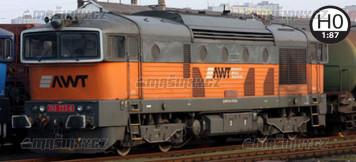 H0 - Dieselová lokomotiva 753 723 - AWT (analog)