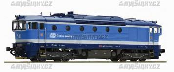 TT - Dieselová lokomotiva řady 754 - CDC (analog)