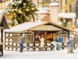 H0 - Vánoční trh - Stánek
