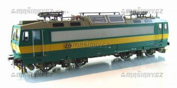 H0 - Elektrická lokomotiva řady 163 - ČD (DCC, zvuk)