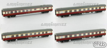 H0 - Sada přípojných vozů pro vlak  Vindobona - ČSD