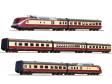"""H0 - Sedmidílná dieselová souprava """"Alpen-See-Express"""", DB (DCC, zvuk)"""