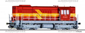 TT - Dieselová lok. 742, ČD