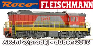 Dubnov� v�prodej ROCO Fleischmann
