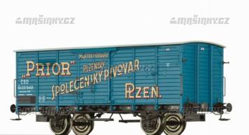 """H0 - Uzavřený vůz Gb """"Prior"""" - ČSD"""