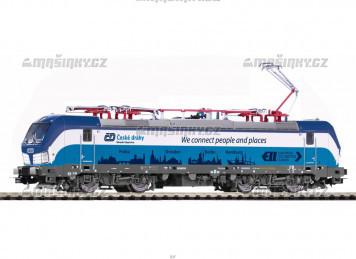 "H0 - Elektrická lokomotiva Vectron  ""Prag-Berlin-Hamburg"" - ČD (analog)"