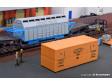 H0 - Nákladový kontejner a dřevěná bedna
