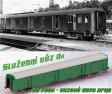 H0 - Služební vůz Da 7228 - ČSD – vozové depo Brno