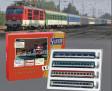 H0 - Set čtyř vozů EN 477 Metropol -R 407 Chopin - CD, MAV, OBB