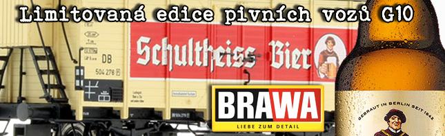 Pivní vozy G10 - BRAWA