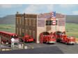 H0 - US hasičská stanice
