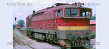 TT - Diesel-elektrická lokomotiva 478.3010 - ČSD (analog)
