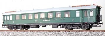 H0 - Osobní vůz 3. třídy Ca 5773 - ČSD