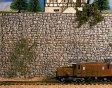 N - Kamenná zeď - lámaný kámen