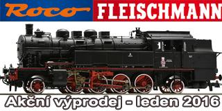 Lednov� v�prodej ROCO Fleischmann