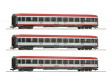 H0 - Set 3 osobních vozů Innsbruck-Bozen, ÖBB