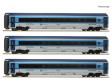 H0 - Třídílný set vozů Railjet - ČD (digital)