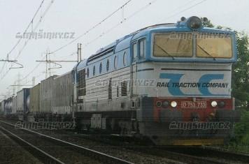 H0 - Dieselová lokomotiva řady 753 - FS - analog