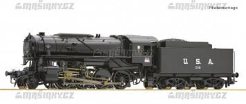 H0 - Parní lokomotiva S160 UNRRA - ČSD (analog)
