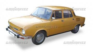 TT - Škoda 110 L - medově žlutá