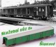 H0 - Slu�ebn� v�z Da 7309.  - �SD Vozov� depo Praha