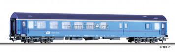H0 - Rychlíkový vůz 2. třídy se zavazadlovým oddílem Y/B 70 - ČD