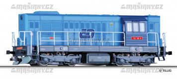 TT - Diselová lokomotiva řady 742 - ČD (analog)