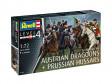 Plastic ModelKit figurky - Seven Years War (Austrian Draggons & Prussian Hussars) (1:72)