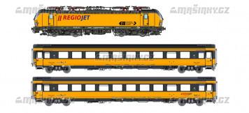 H0 - Vectron BR 193 + dva vozy - Regio jet (DCC, zvuk)