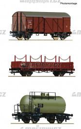 H0 - Set tří nákladních vozů - ČSD