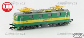 TT - Elektrická lokomotiva 121-002 - ČD (analog)