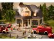 """H0 - Hořící dům """"neřesti"""" - mikro-sound se světelnými efekty"""