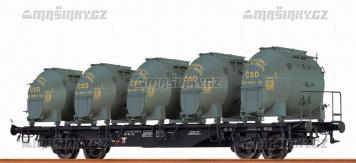 H0 - Kontejnerový vůz Ls - ČSD