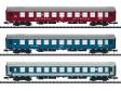 "N - Set tří vozů ""Balt-Orient-Express"" DR, CFR, MAV"