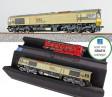H0 - Dieselová lokomotiva HSL Logistik 653-07 (DCC, zvuk, kouř)