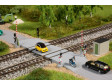 N - Železniční přejezd
