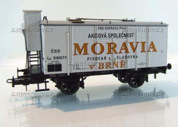 """H0 - Uzavřený vůz """"Moravia Brno"""" - ČSD"""