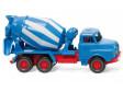 H0 - Míchačka na beton (MAN) - modrá / bílá