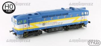 H0 - Dieselová lokomotiva 750 333 - ČD (analog)