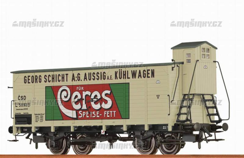 """H0 - Uzavřený vůz Lp """"Ceres Speisefett"""" - ČSD #1"""